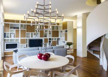 Ristrutturazione Cucina, soggiorno, scala e bagni